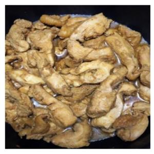 簡単 楽チン 鶏胸肉の四日市トンテキ風