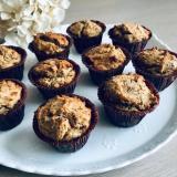 Peppermint mini muffin