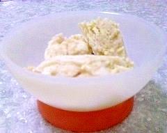 クッキー入りヨーグルトアイス