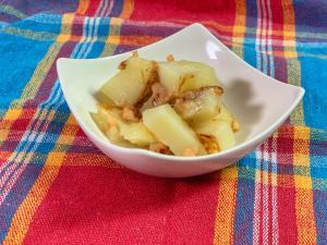 ポテトと鮭フレークのとろ〜りチーズ焼き
