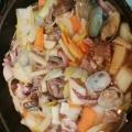シーフードでヘルシー八宝菜