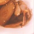 豚とごぼうの煮物