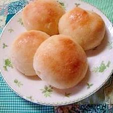 レンジ発酵パン シュガーバターパン