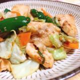 【お弁当にも】鶏むね肉のオイスター野菜炒め