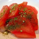 黒酢でさっぱり トマトサラダ♪