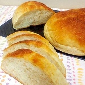 全粒粉ヨーグルト入り丸パン@天然酵母