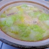 冬野菜いっぱいのサムゲタン生姜鍋