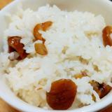 天津甘栗の炊き込みご飯