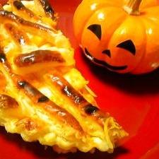 【ハロウィン】かぼちゃパイでパーティ♪