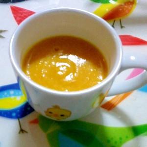 カボチャと人参、豆乳のスープ