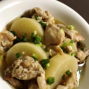 鶏肉と大根の生姜煮