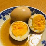 小鍋1つ♪固ゆで卵の中華味玉