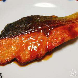 鮭のレモン照り焼き
