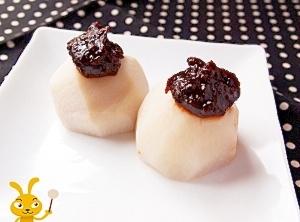 里芋の甘味噌田楽
