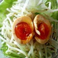 半熟卵の味噌漬け