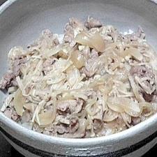 定番♪ ウチの牛丼