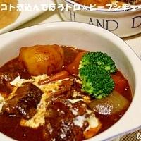 コトコト煮込んでほろトロ☆ ビーフシチュー