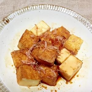 焼き絹揚げの生姜醤油和え✿