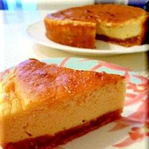 ヨーグルトタップリのベイクドチーズケーキ
