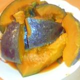 ポリ袋で簡単☆かぼちゃの煮物