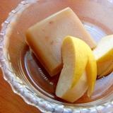 冷凍と自然解凍で簡単❤水羊羹のデザート♪