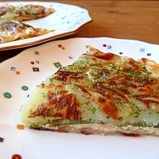 ガレット風★ポテトと明太チーズの重ね焼き