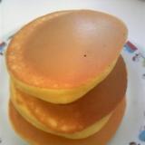 オレンジジュース入りホットケーキ♪
