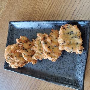 鶏ミンチのゴマ焼き