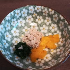 離乳食中期★マグロのカラフル野菜添え