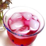旬の赤紫蘇を余さず使う!①自家製赤紫蘇ジュース