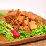 畑のお肉「大豆」からできる、高野豆腐の唐揚げ