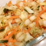 白菜の漬物サラダ♪
