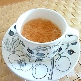 シナモン風味のロイヤルミルクティー