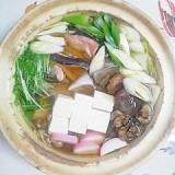 生秋鮭の鍋物