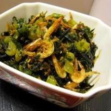 ご飯がすすむ!大根の葉&ひじきの炒め煮