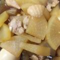 鶏肉と大根の煮物⭐️