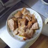 豚肩ロースのホロホロ煮つけ