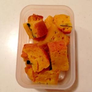 離乳食☆炊飯器で簡単!カボチャ入りホットケーキ