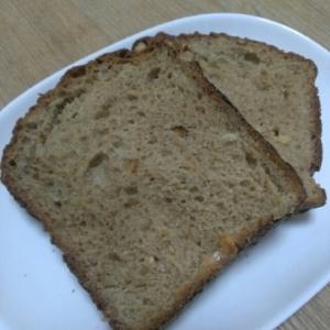 ホームベーカリーでくるみ入り味噌食パン