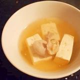 スープごと ☆ 洋風湯豆腐♪