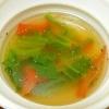 ほうれん草と人参のスープ