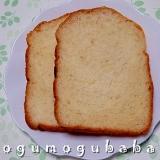 HBで作る☆酒粕入り食パン
