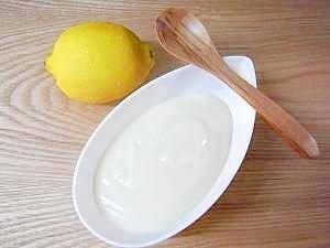 卵白1個!白いレモンカスタード