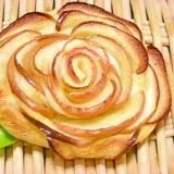 バラのリンゴパイ