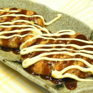 豆腐と長ネギのふわふわお好み焼き風