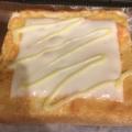 明太子とスライスチーズとマヨネーズのミニトースト
