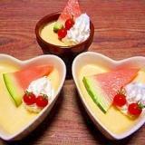 濃厚カマンベール☆チーズプリン