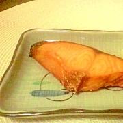 新潟村上名産☆塩引鮭の大根おろし添え