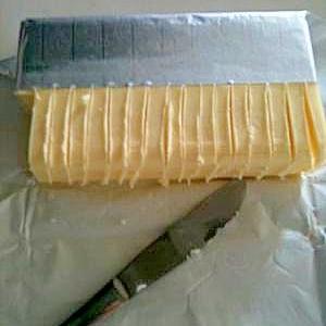 レシピ以前noバターの切り方
