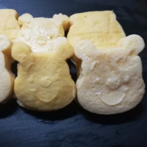 くまのプーさんʕ·ᴥ·ʔヘルシー豆腐蒸しパン